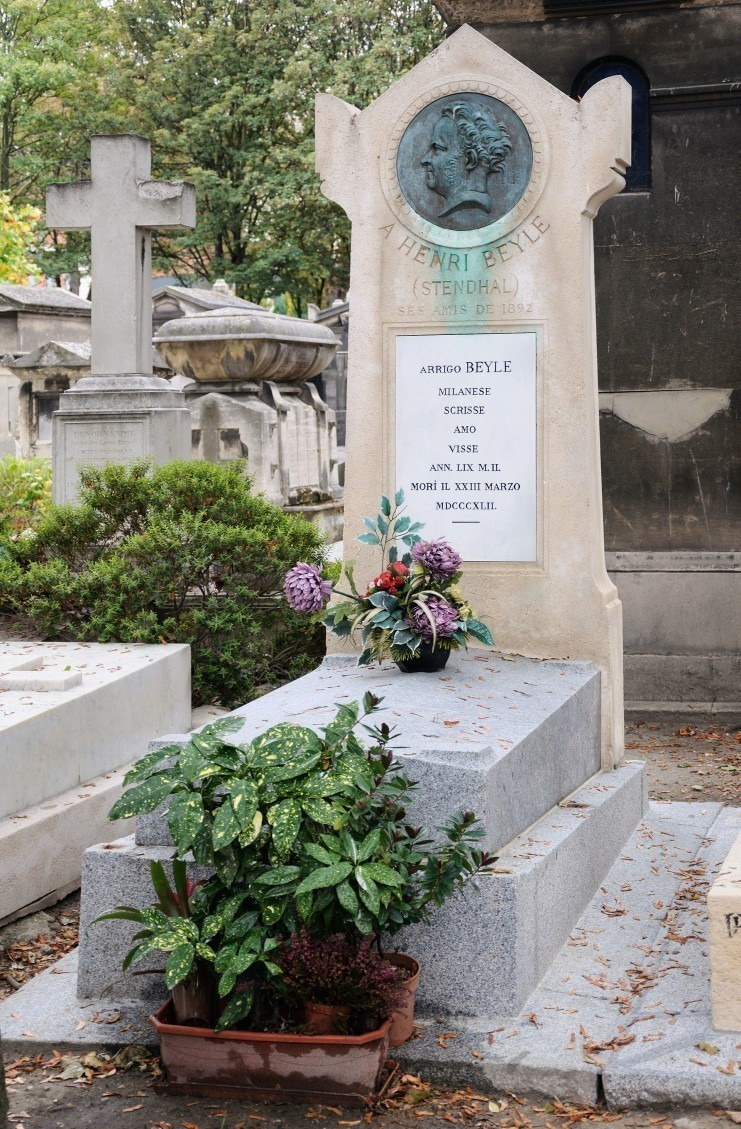 Stendhal_tombe_cimetiere_Montmartre
